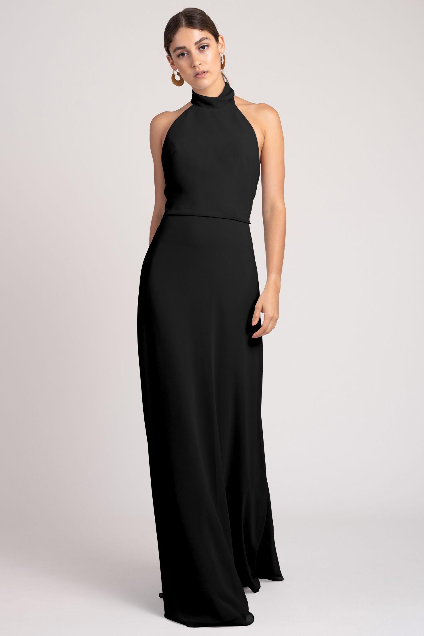 Brett Bridesmaids Dress by Jenny Yoo - Black