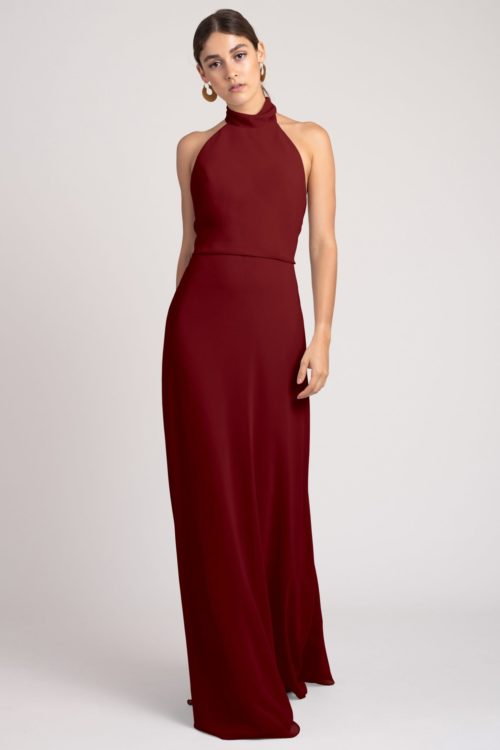 Brett Bridesmaids Dress by Jenny Yoo - Merlot