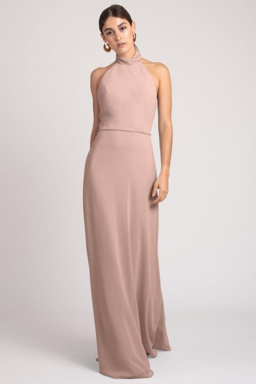 Brett Bridesmaids Dress by Jenny Yoo - Whipped Apricot