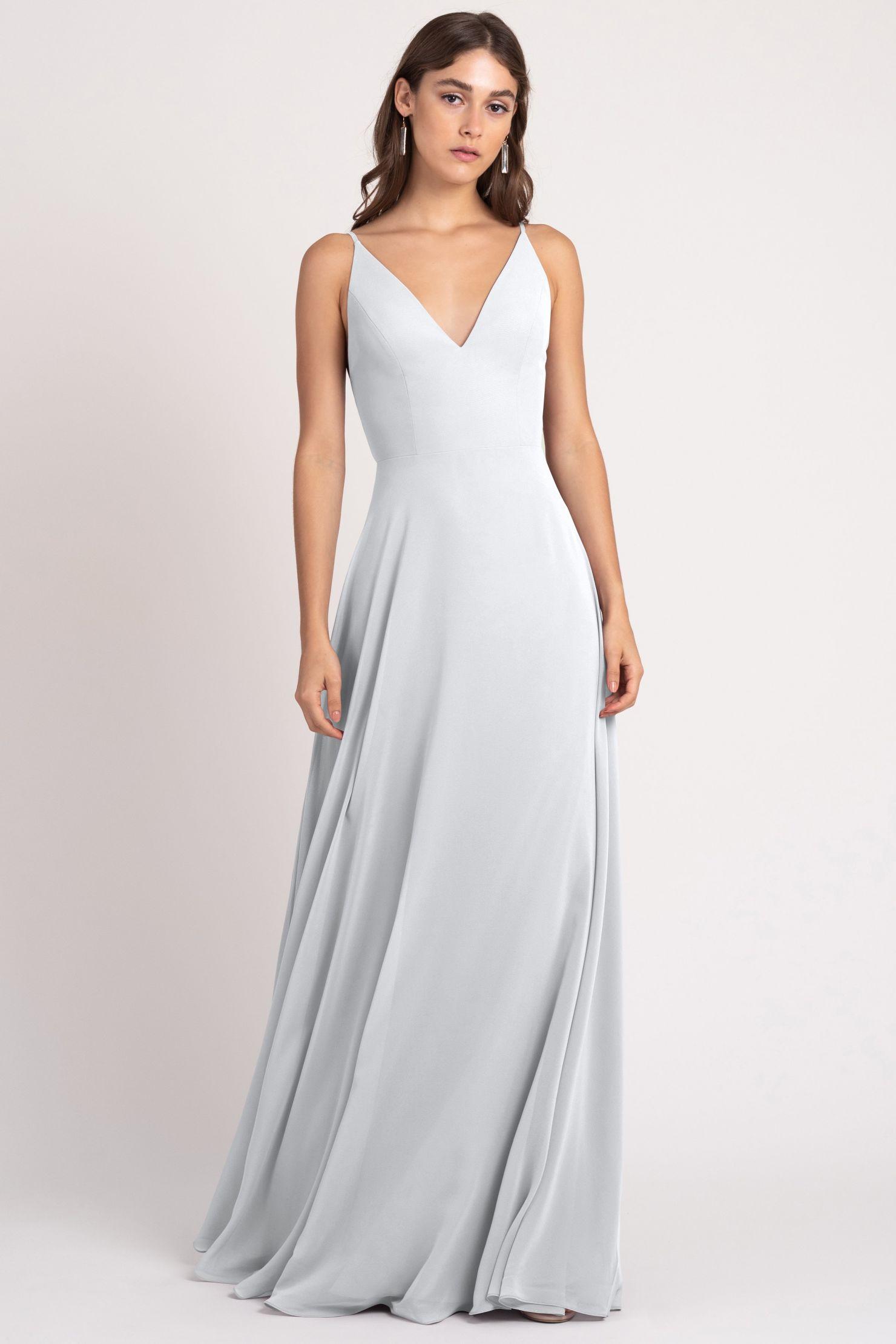Dani Bridesmaids Dress by Jenny Yoo - Cloud