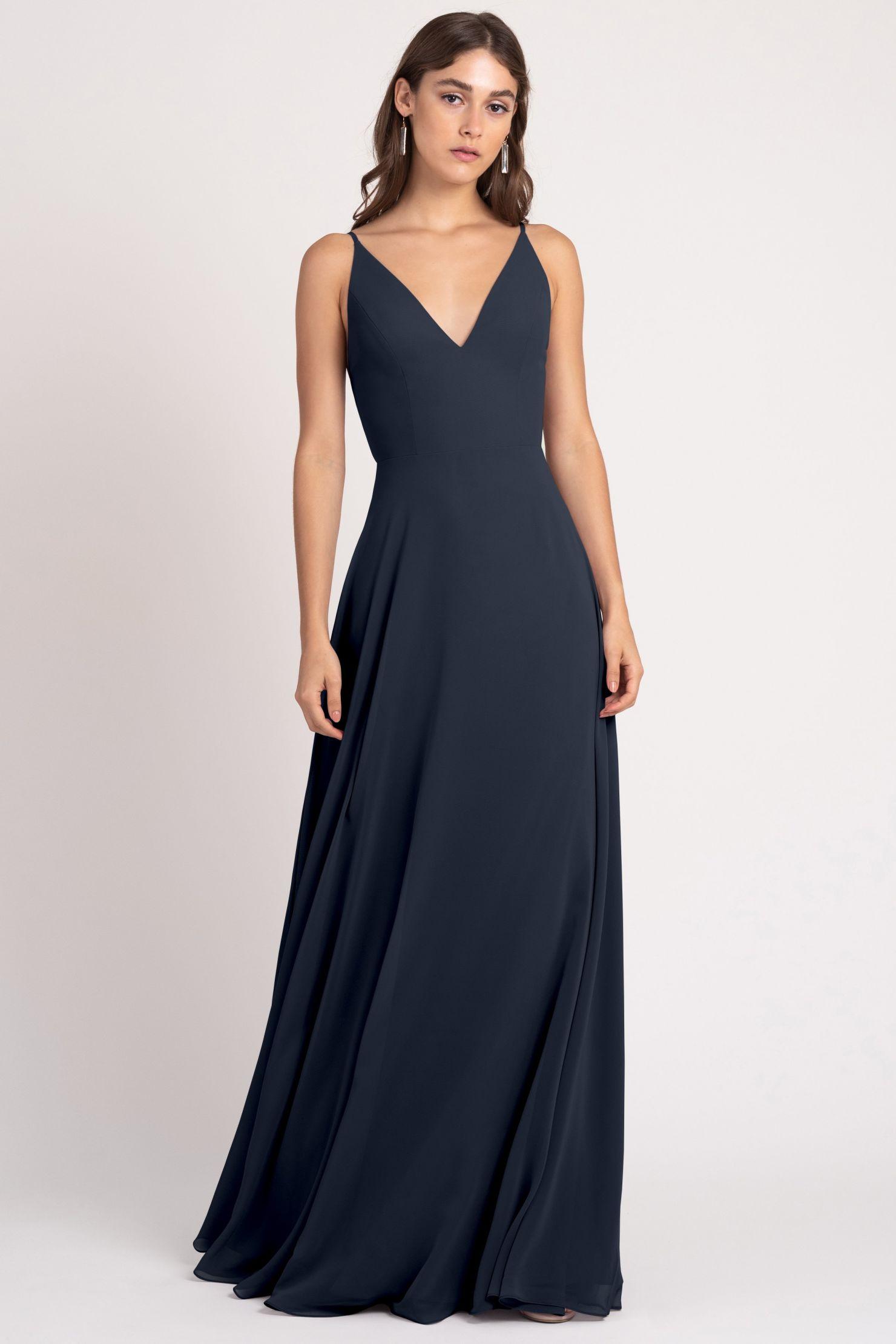 Dani Bridesmaids Dress by Jenny Yoo - Navy