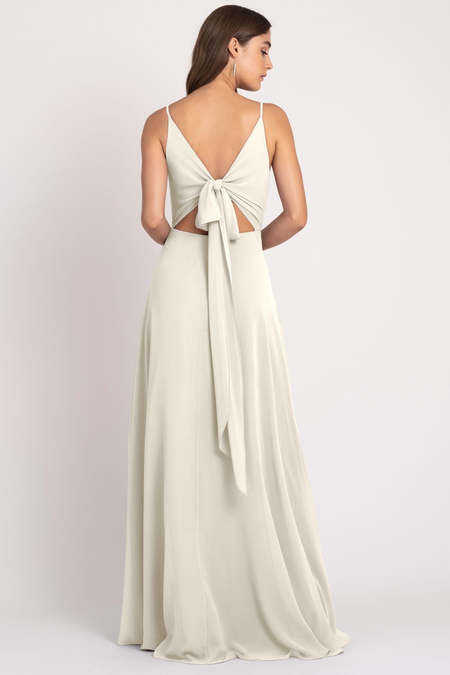 Dani Bridesmaids Dress by Jenny Yoo - Winter White