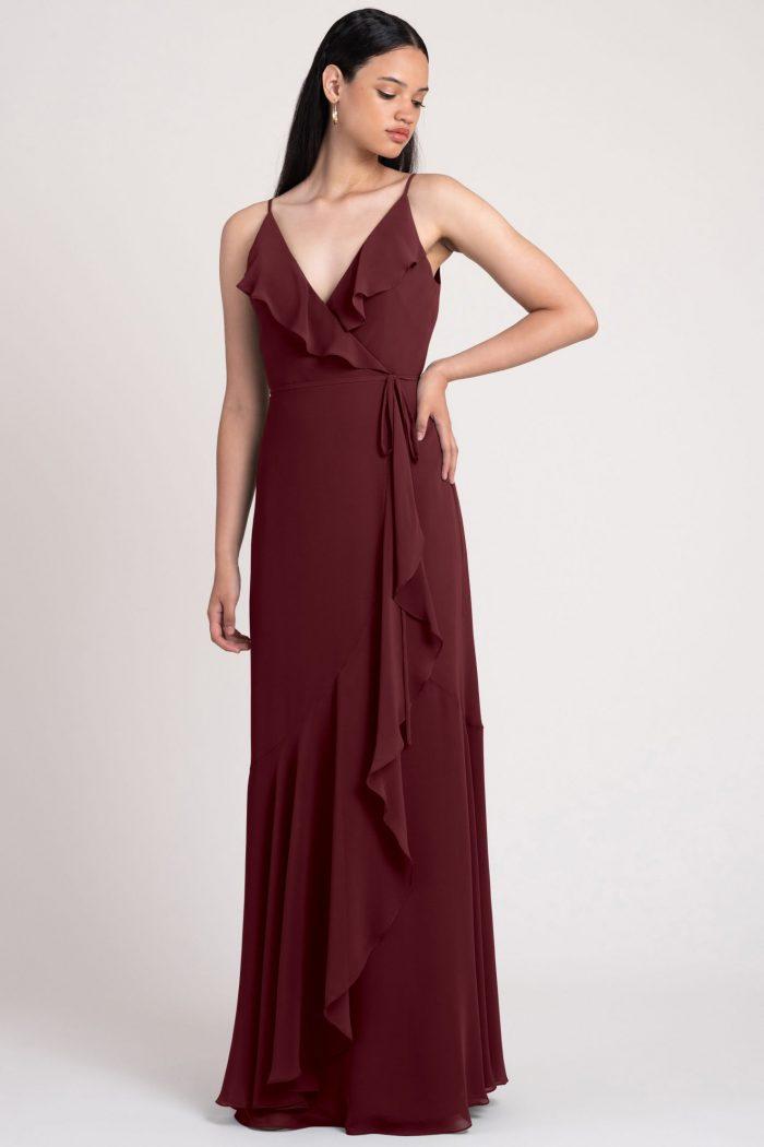 Ensley Bridesmaids Dress by Jenny Yoo - Hibiscus