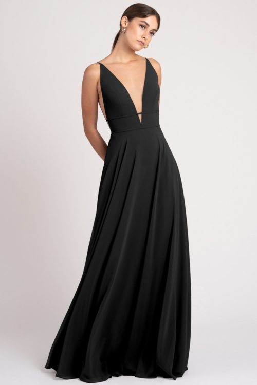 Hollis Bridesmaids Dress by Jenny Yoo - Black