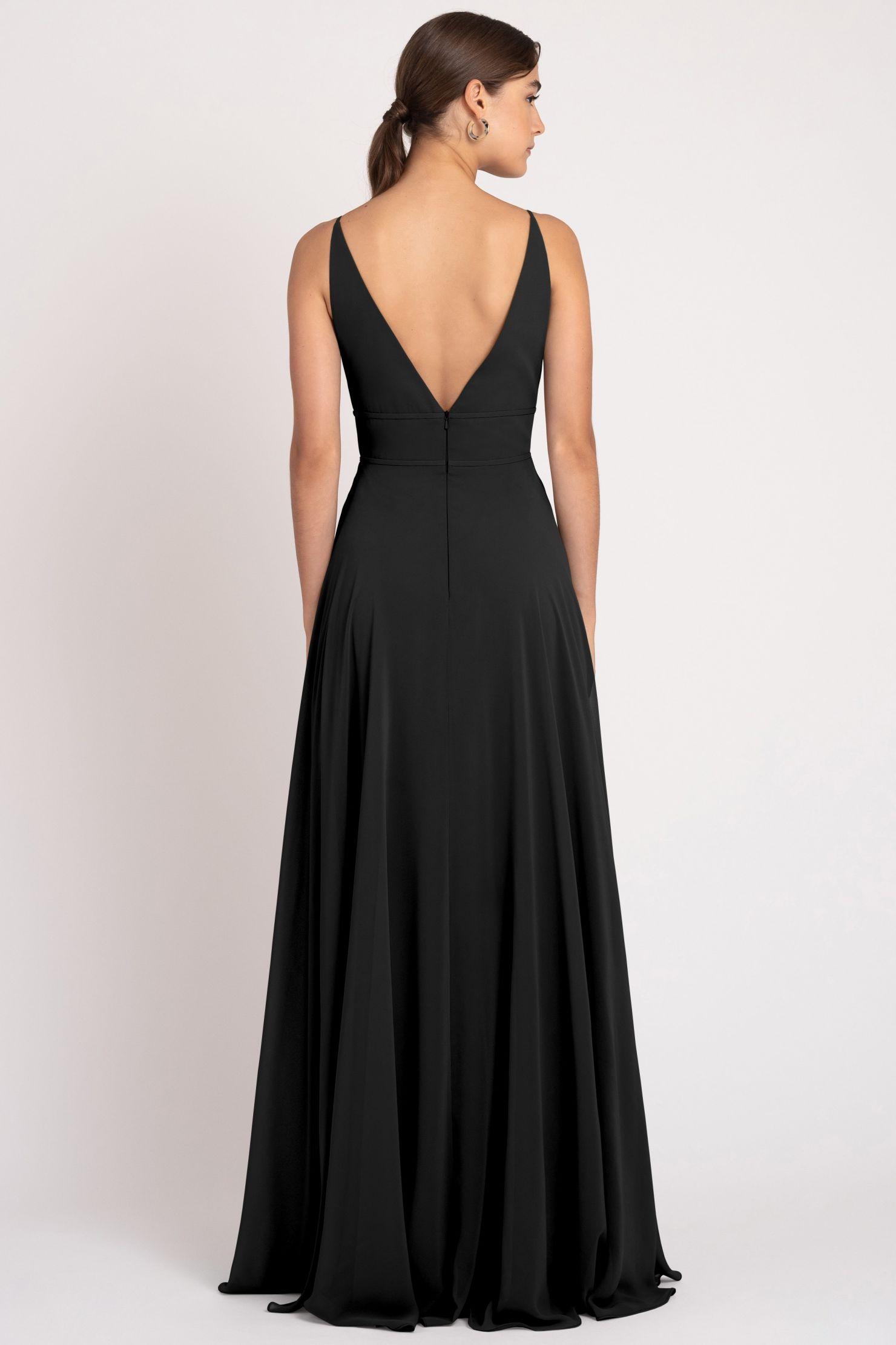 Hollis Bridesmaids Dress by Jenny Yoo - Black
