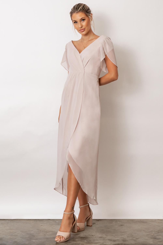 Zara Bridesmaid Dresses by Talia Sarah in Cashmere