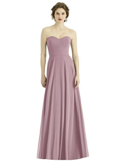 Teagan Dusty Rose Bridesmaids Dress by Dessy