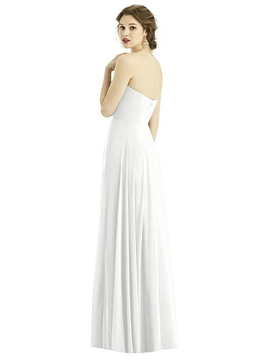 Teagan White Bridesmaids Dress by Dessy