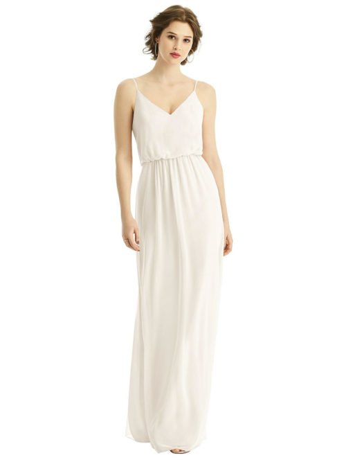Alina Ivory Bridesmaids Dress by Dessy