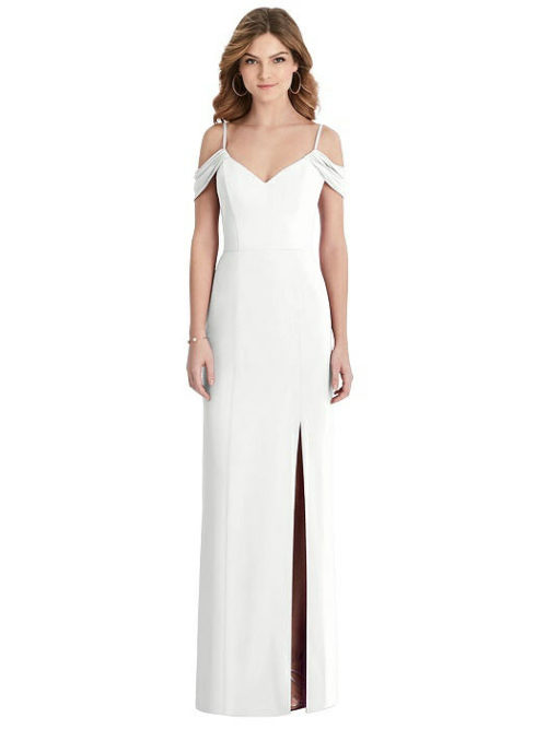 Emmy White Bridesmaids Dress by Dessy