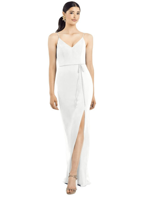 Ellie White Bridesmaids Dress by Dessy