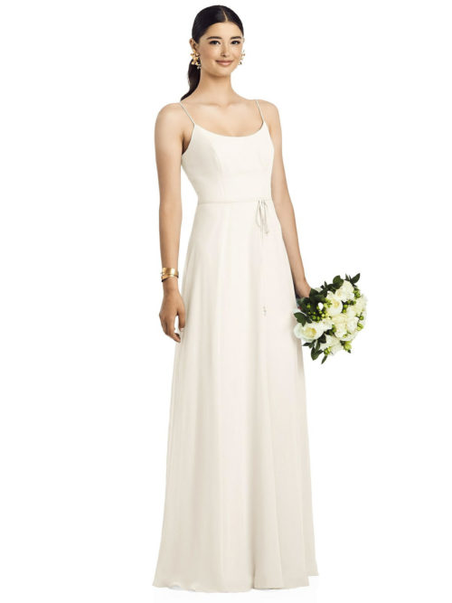 Kaitlin Ivory Bridesmaids Dress by Dessy