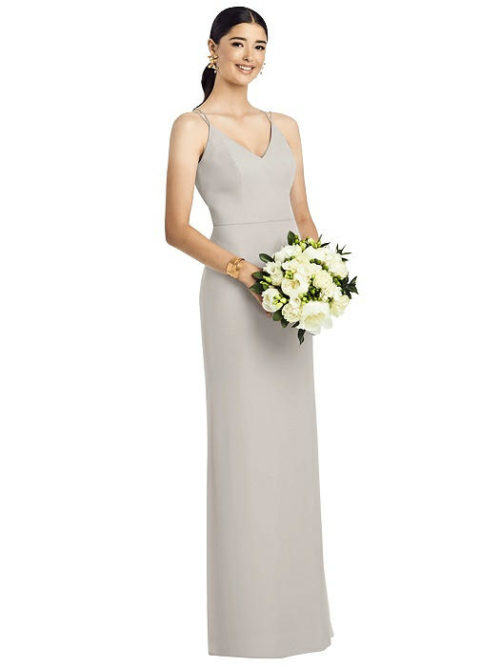 Layla Oyster Bridesmaids Dress by Dessy