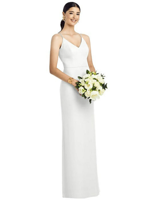 Layla Ivory Bridesmaids Dress by Dessy