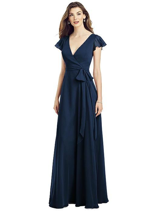 Avianna Midnight Blue Bridesmaids Dress by Dessy