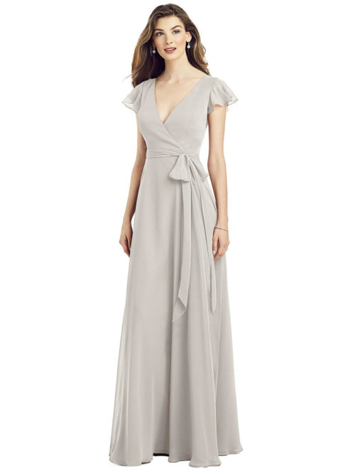 Avianna Oyster Bridesmaids Dress by Dessy