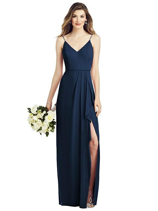 Lauren Midnight Blue Bridesmaids Dress by Dessy