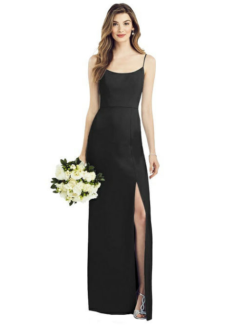 Anthea Black Bridesmaids Dress by Dessy