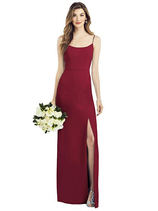 Anthea Burgundy Bridesmaids Dress by Dessy