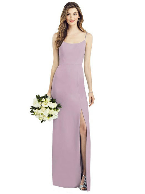 Anthea Suede Rose Bridesmaids Dress by Dessy