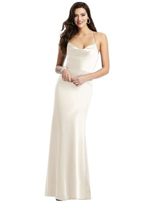Clara Ivory Bridesmaids Dress by Dessy