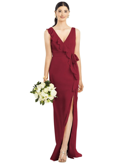 Anabella Claret Bridesmaids Dress by Dessy
