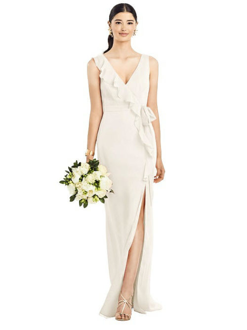 Anabella Ivory Bridesmaids Dress by Dessy