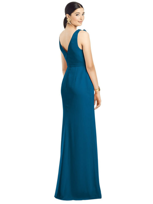 Anabella Ocean Blue Bridesmaids Dress by Dessy