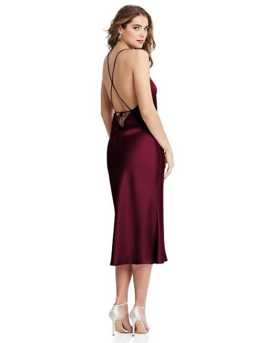 Piper Cabernet Bridesmaids Dress by Dessy