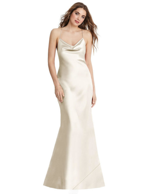 Reese Ivory Bridesmaids Dress by Dessy