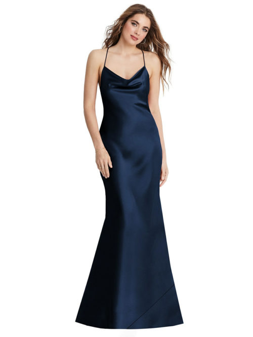 Reese Midnight Blue Bridesmaids Dress by Dessy