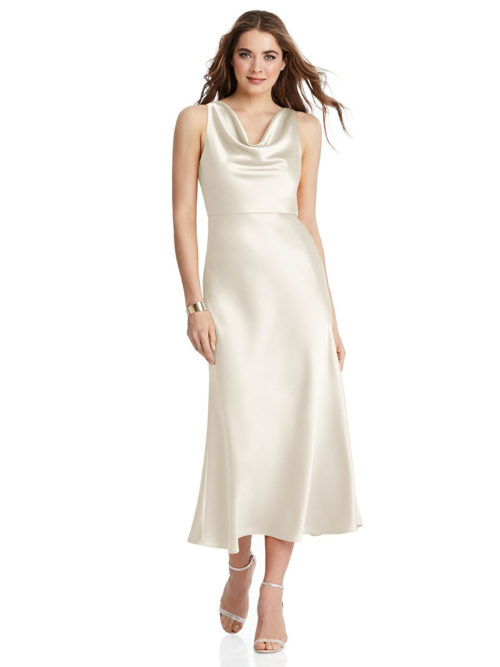 Esme Ivory Bridesmaids Dress by Dessy