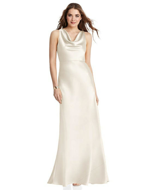 Nova Ivory Bridesmaids Dress by Dessy