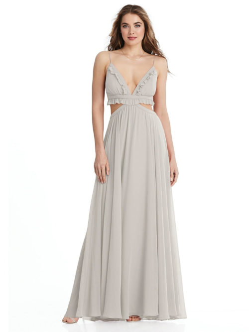Jessie Oyster Bridesmaids Dress by Dessy