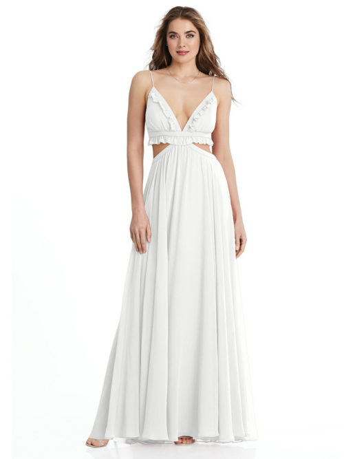 Jessie White Bridesmaids Dress by Dessy