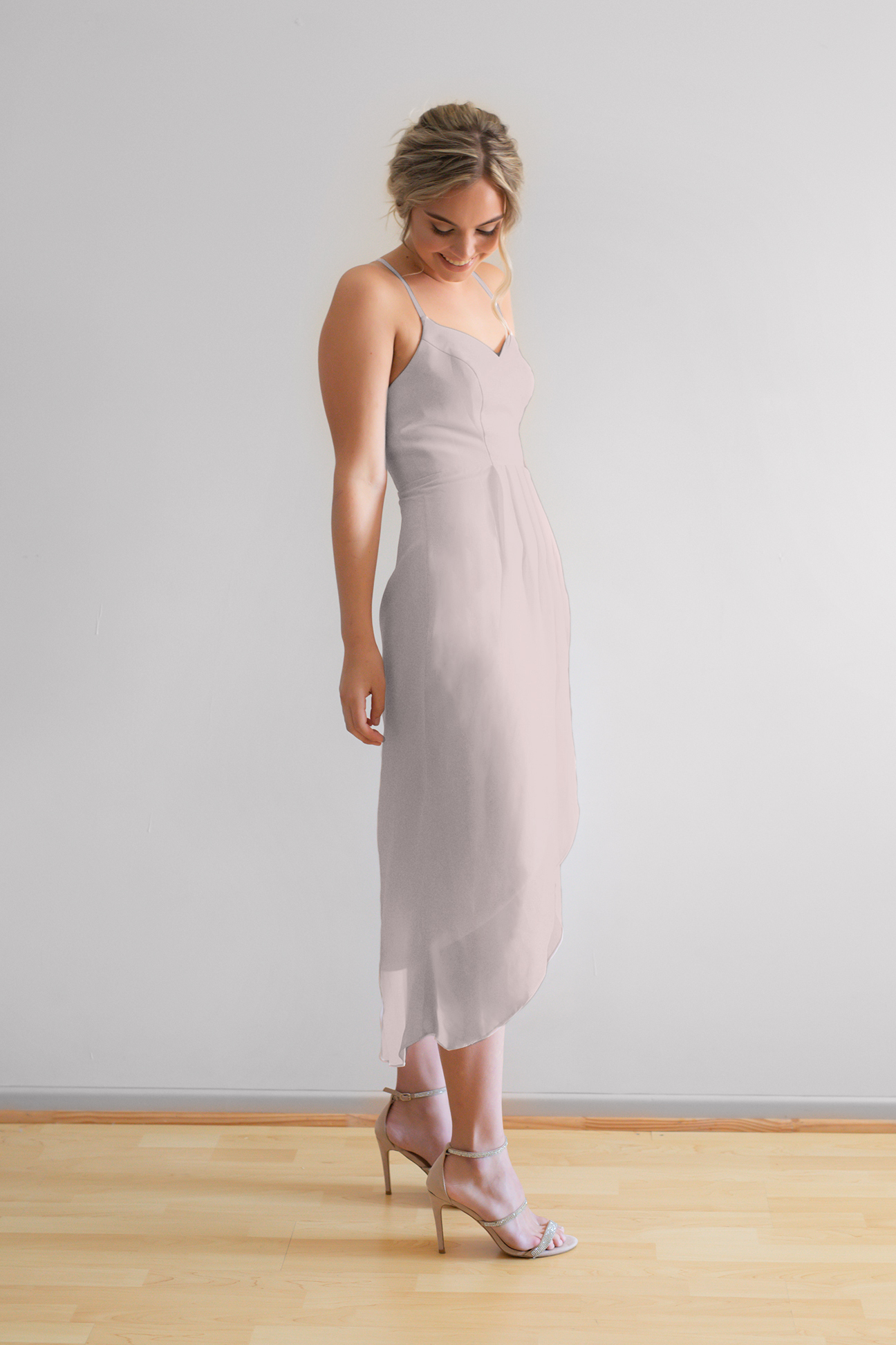 Chloe Bridesmaids Dress in Cashmere
