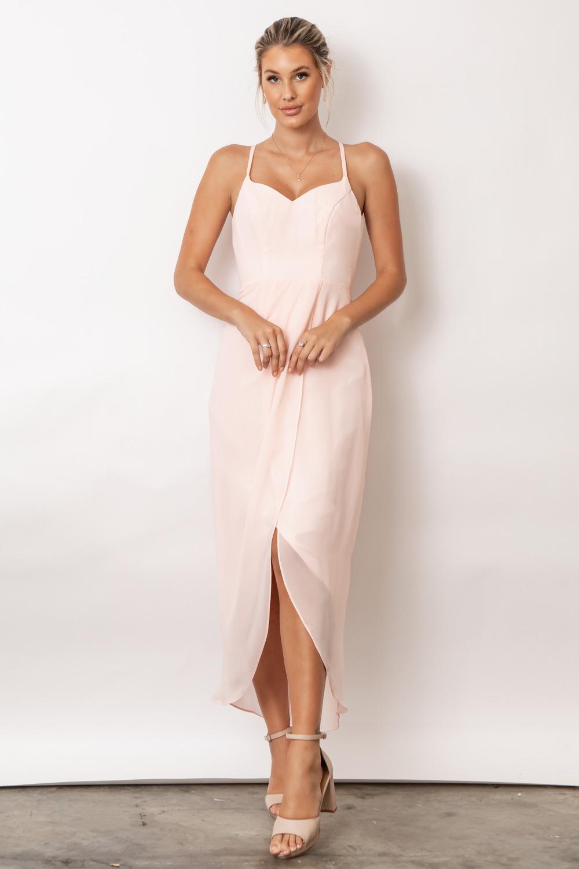 Chloe Australian Bridesmaid Dresses by Talia Sarah in Ballerina