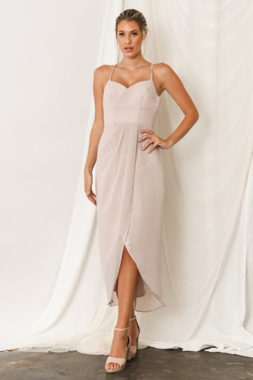Chloe Australian Bridesmaid Dresses by Talia Sarah in Cashmere