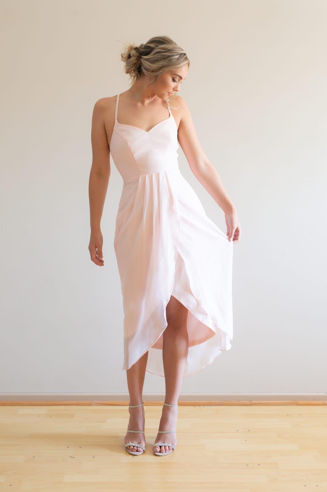 Chloe Bridesmaids Dress by Talia Sarah - Ballerina