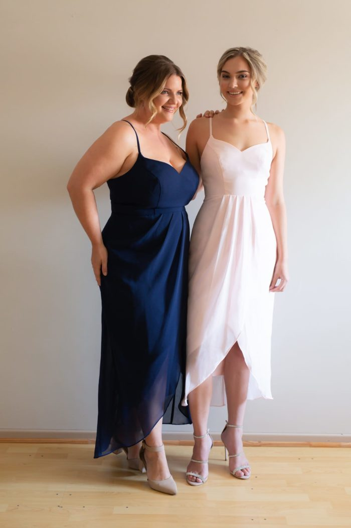 Try Before You Buy Bridesmaids Dress Chloe in Ballerina