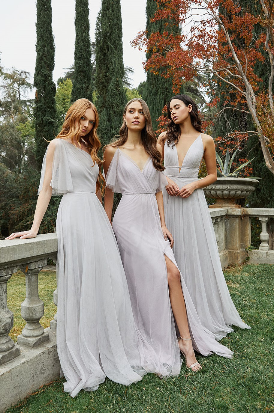 Jenny Yoo Soft Tulle Bridesmaids Dress