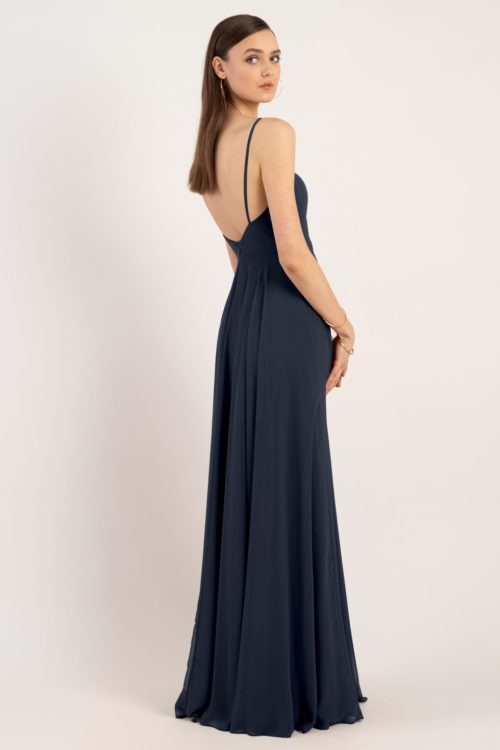 Renee Bridesmaids Dress by Jenny Yoo - Navy