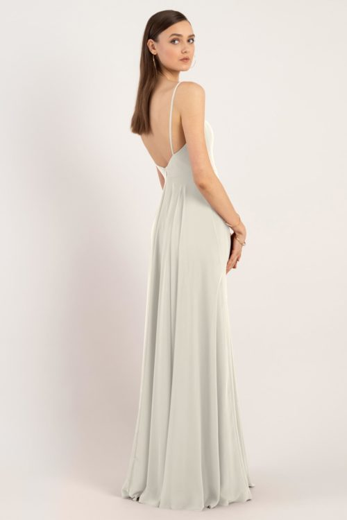 Renee Bridesmaids Dress by Jenny Yoo - Winter White
