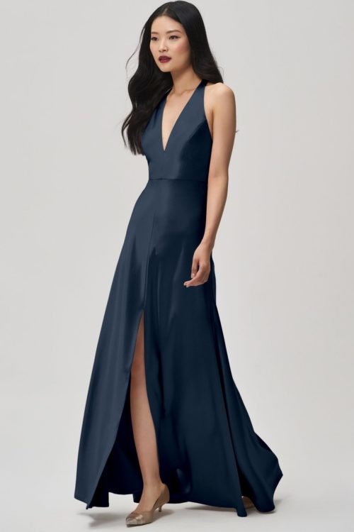 Corinne Bridesmaids Dress by Jenny Yoo - French Blue