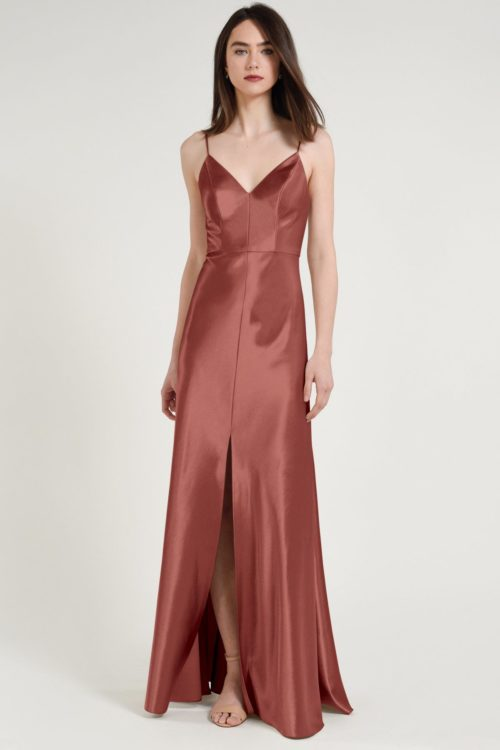 Dina Bridesmaids Dress by Jenny Yoo - English Rose