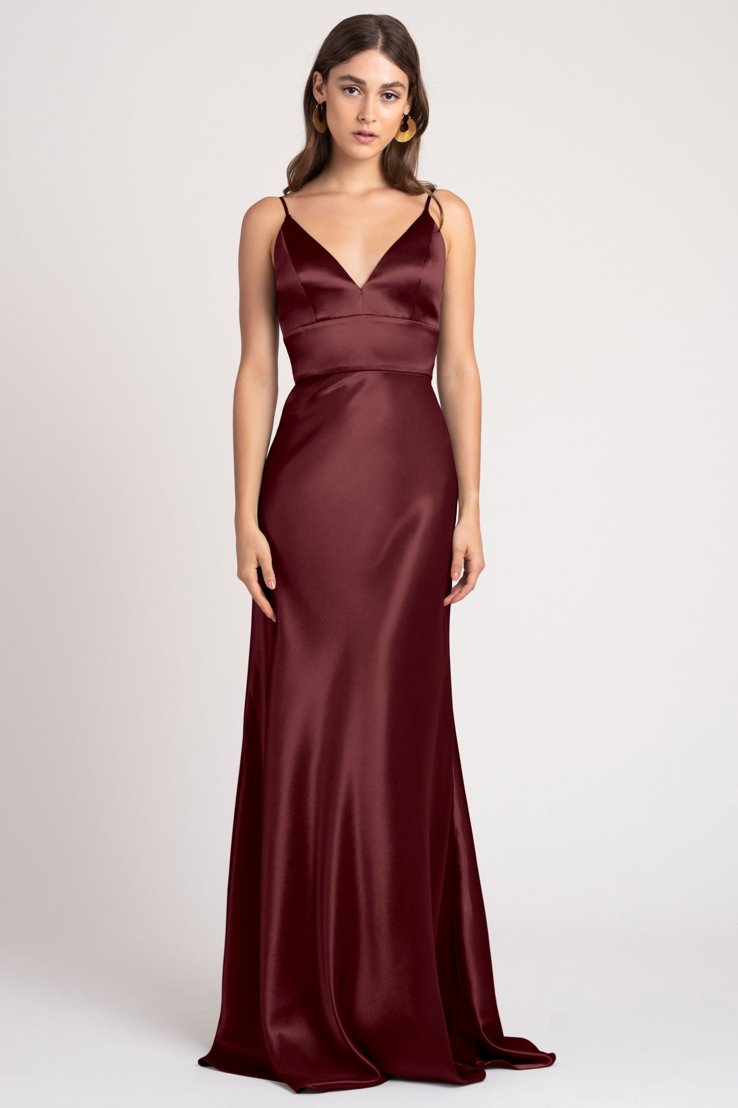 Brenna Bridesmaids Dress by Jenny Yoo - Hibiscus