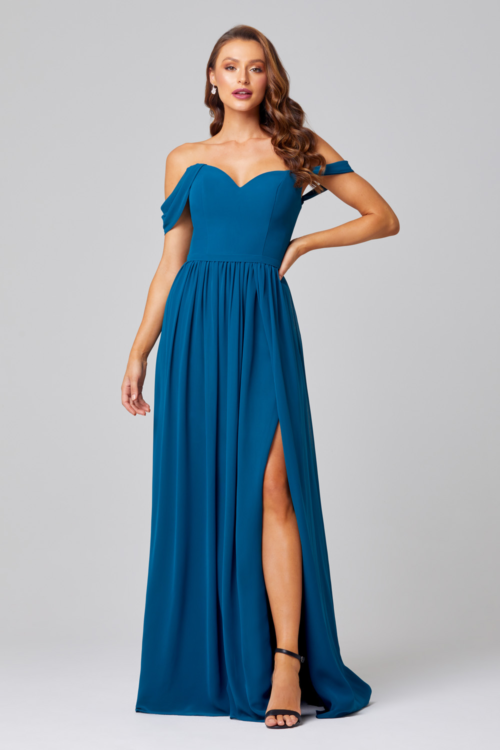 Natalie Bridesmaids Dress by Tania Olsen - Teal