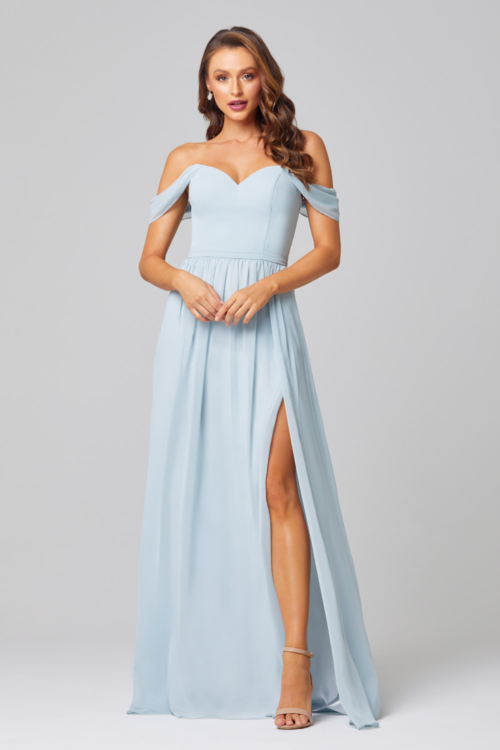 Natalie Bridesmaids Dress by Tania Olsen - Duck Egg