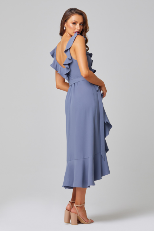 Thea Bridesmaids Dress by Tania Olsen - Dusty Blue