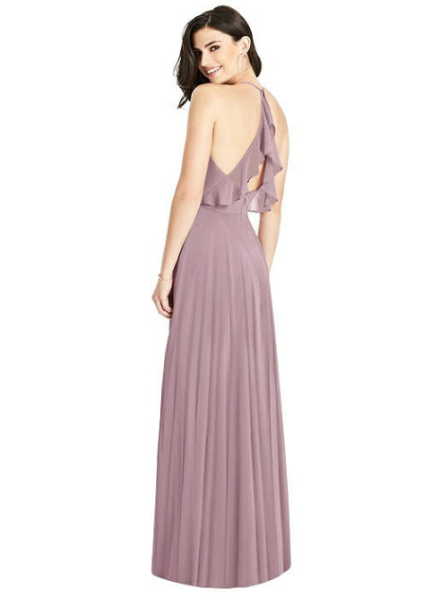 Amara Dusty Rose Bridesmaids Dress by Dessy